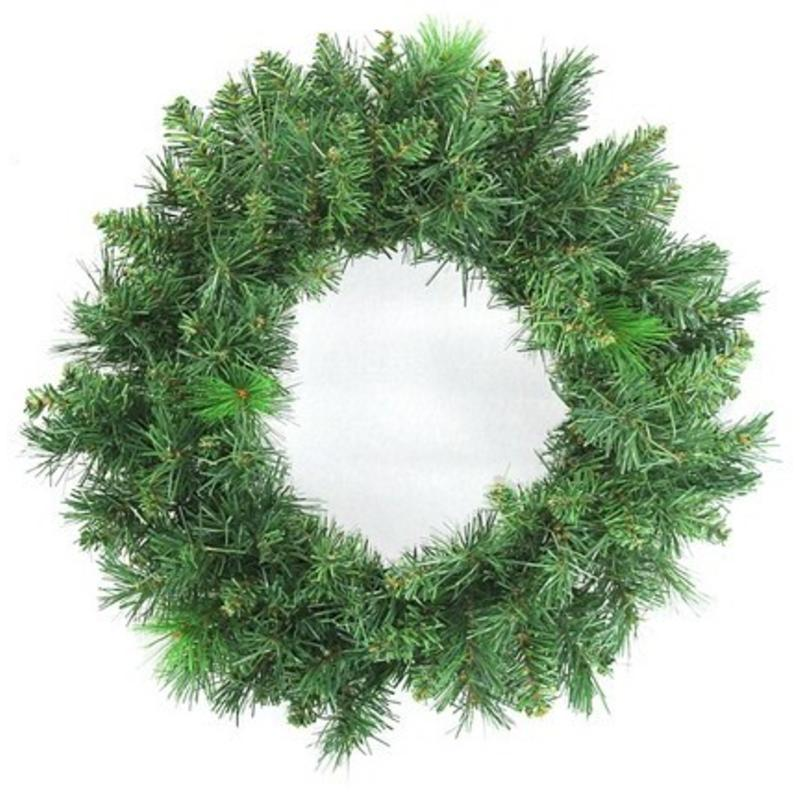 Mixed Pine Wreath