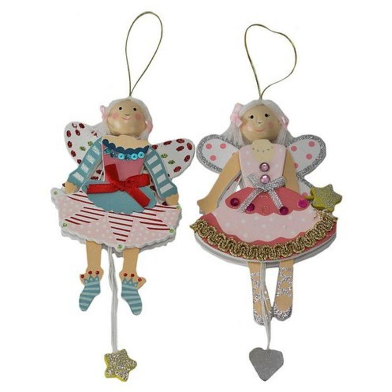 Wooden Fairy Hanging