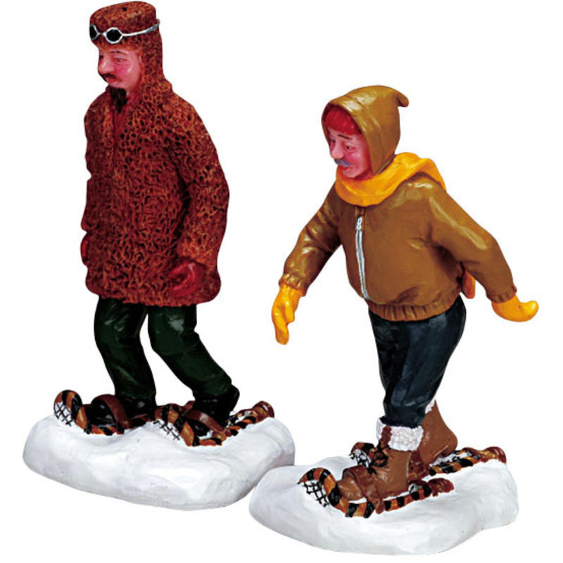 RUGGED SNOWSHOERS SET OF 2