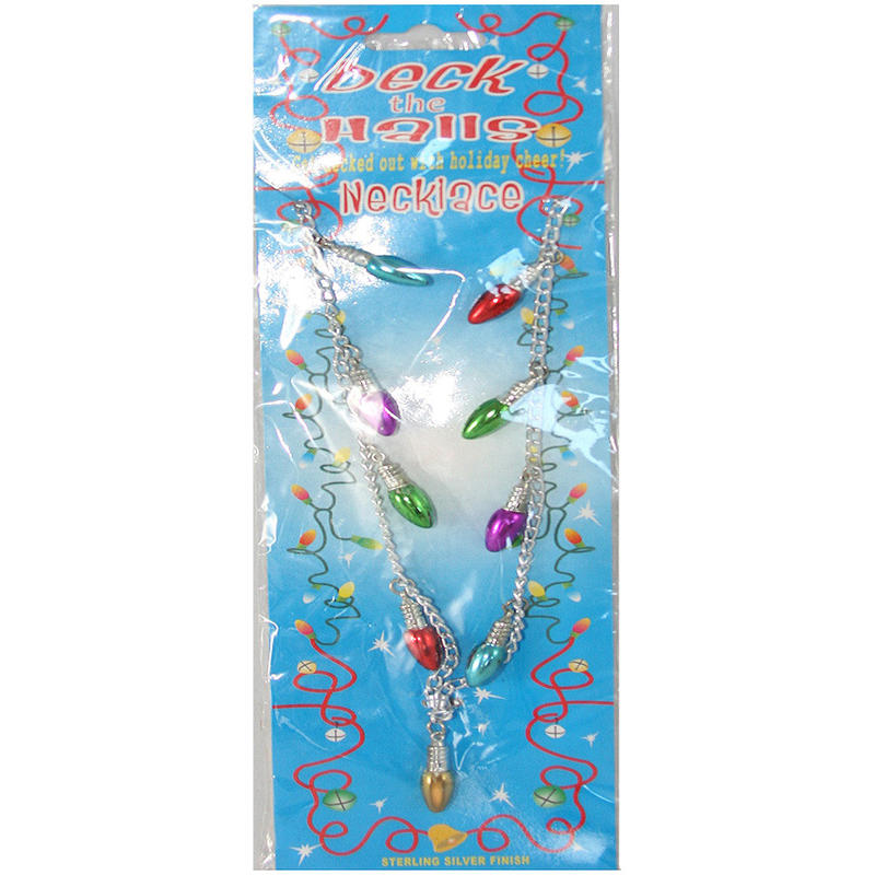 Deck the Halls Light Necklace