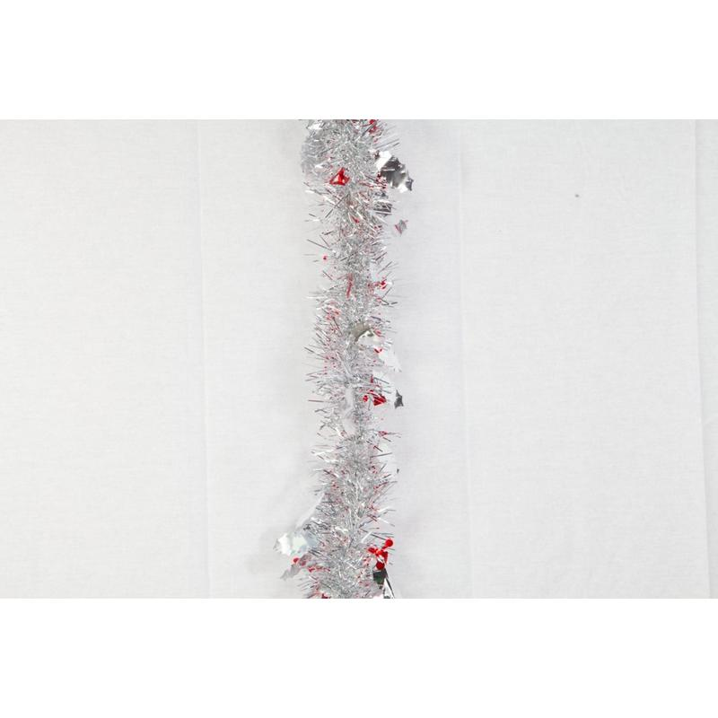 Red Holly Edge tinsel