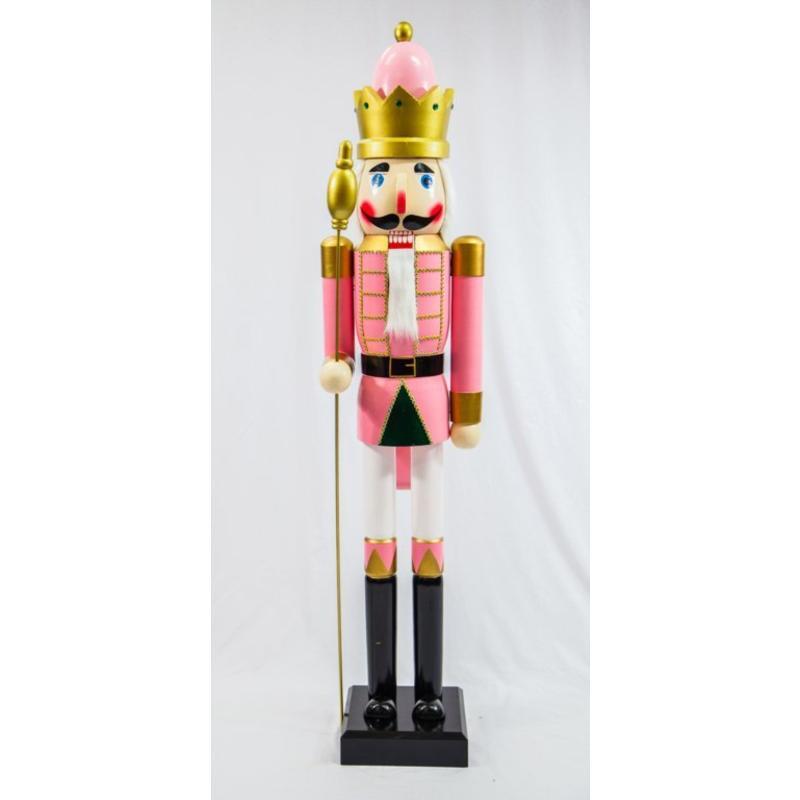 Pink Guard Nutcracker 180cm