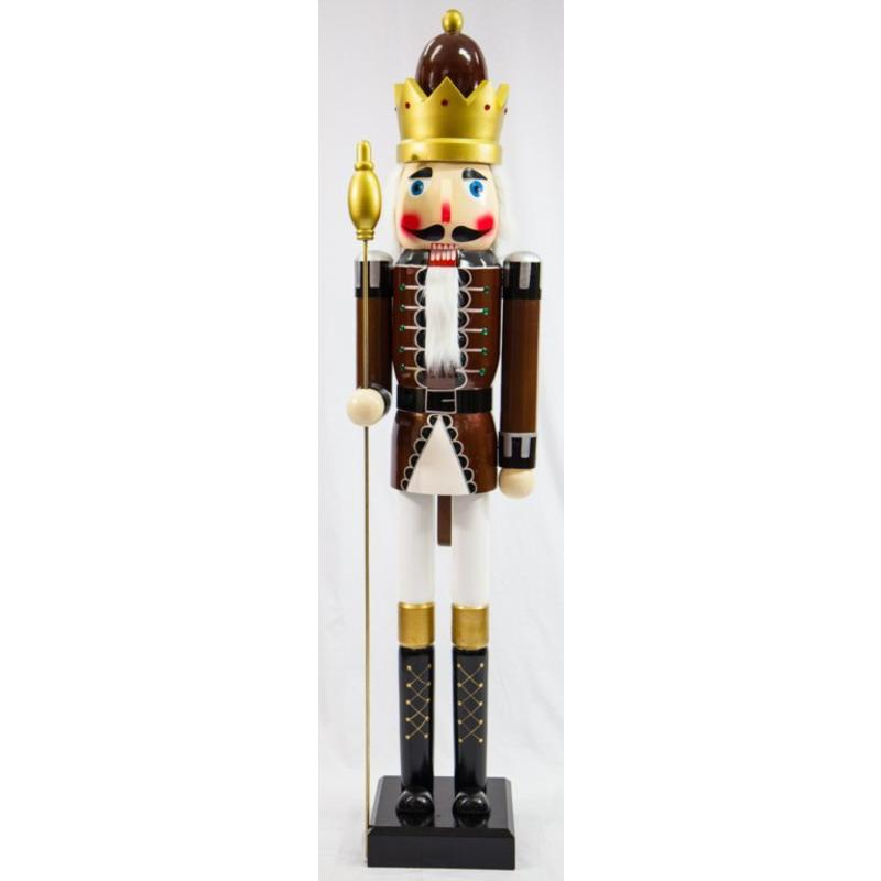 Brown Guard Nutcracker 180cm